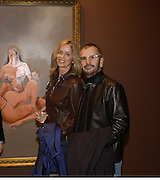 Ringo Starr and Barbara Bach, George Condo opening of Religeous paintings, Spruth Magers and Lee,  Berkeley St. 12 October 2004. ONE TIME USE ONLY - DO NOT ARCHIVE  © Copyright Photograph by Dafydd Jones 66 Stockwell Park Rd. London SW9 0DA Tel 020 7733 0108 www.dafjones.com