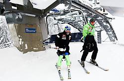 Marusa Ferk of Slovenia prior to the 1st Run of 50th Golden Fox Audi Alpine FIS Ski World Cup Ladies Slalom, on February 2, 2014 in Podkoren, Kranjska Gora, Slovenia. (Photo By Matic Klansek Velej / Sportida.com)