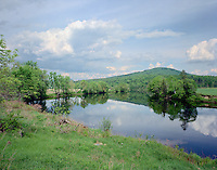 Orne Mountain and Connecticut River, South Lancaster, NH