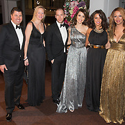 NLD/Amsterdam /20131212 - Vipnight Master of LXRY 2013 opening, Tamara Elbaz en partner Hans Spek, Laura Ponticorvo en Maria Tailor
