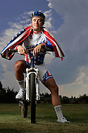 Rob Kerr / The Bulletin ORIG  Aug 07 2008<br /> United States Olympic mountain bike racer Adam Craig of Bend, Ore. is photographed near Shevlin Park on the eve of the start of the Olympic Games. Scheduling conflicts are preventing him from attending the opening ceremonies, but the time at home riding the local trails, final training and resting is a big part of the game plan for the Aug. 23 Olympic cross-country event.