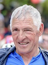 26.05.2017, Piancavallo, ITA, Giro d Italia 2017, 19. Etappe, Innichen (San Candido) nach Piancavallo, im Bild der ehemalige Radrennfahrer Francesco Moser (ITA) // former Italian racing cyclist Francesco Moser during the 19 th stage of the 100 th Giro d Italia cycling race from Innichen (San Candido) to Piancavallo, Italy on 2017/05/26. EXPA Pictures © 2017, PhotoCredit: EXPA / Martin Huber