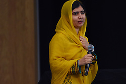 August 31, 2017 - Mexico City, Mexico, Mexico - Pakistani Social Leader Malala Yousafzai was winner Nobel Peace Prize  in 2014 is seen speak during  the 'Meeting with Malala' press conference at the Tecnologico de Monterrey University  as part of her working visit to Mexico on August 31, 2017 in Mexico City, Mexico  (Credit Image: © Carlos Tischler/NurPhoto via ZUMA Press)