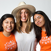 Mentor Michelle, Mentees Zenaida, Evelyn