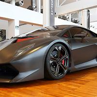 Lamborghini Sesto Elemento at the Lamborghini Museum in Sant'Agata Bolognese, Italy, May 2014