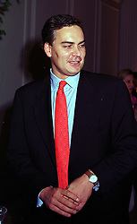MR TONY O'REILLY jnr, son of leading Irish businessman Tony O'Relly, at a party in London on 7th October 1999.MXI 12