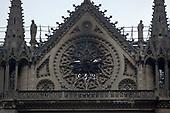 Notre Dame fire Aftermath, Paris, France