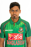 Taijul Islam, Bangladesh cricket team headshots ahead of their New Zealand tour. Cobham Oval, Whangarei. 21 December 2016. Copyright Image: Heath Johnson / www.photosport.nz
