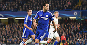 Cesc Fabregas watches on during the Champions League group stage match between Chelsea and Dynamo Kiev at Stamford Bridge, London, England on 4 November 2015. Photo by Michael Hulf.
