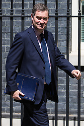 London, UK. 21 May, 2019. David Gauke MP, Lord Chancellor and Secretary of State for Justice, leaves 10 Downing Street following a Cabinet meeting.