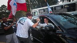 """O candidato a governador do Estado pela coligação """"O Rio Grande Merece Mais"""", Vieira da Cunha durante Debate TV Pampa, em Porto Alegre. FOTO: Jefferson Bernardes/ Agência Preview"""
