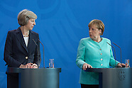 Angela Merkel welcomes Theresa May