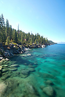 Scenic image of Lake Tahoe, CA.