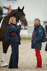Rowena Luard, Ann Barrott, (GBR) owners of Valero<br /> Grand Prix Kür<br /> European Championships - Aachen 2015<br /> © Hippo Foto - Dirk Caremans<br /> 14/08/1516/08/15