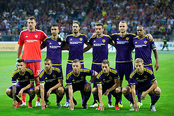 Team photo of Maribor during First Leg football match between NK Maribor and FC Astana in Second qualifying round of UEFA Champions League, on July 14, 2015 in Stadium Ljudski vrt, Maribor, Slovenia. Photo by Vid Ponikvar / Sportida
