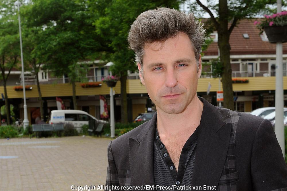 Perspresentatie van het toneelstuk The Normal Heart in het Zonnehuis in Amsterdam.<br /> <br /> Op de foto:  Frederik Brom
