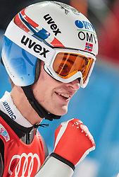 06.01.2016, Paul Ausserleitner Schanze, Bischofshofen, AUT, FIS Weltcup Ski Sprung, Vierschanzentournee, Bischofshofen, Finale, im Bild Daniel Andre Tande (NOR) // Daniel Andre Tande of Norway reacts after his 1st round jump of the Four Hills Tournament of FIS Ski Jumping World Cup at the Paul Ausserleitner Schanze in Bischofshofen, Austria on 2016/01/06. EXPA Pictures © 2016, PhotoCredit: EXPA/ JFK