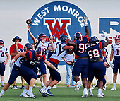 2018 WM Football Spring Practice May 7