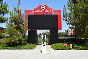 Wilson Field Home of Chapman Panthers Signage and Entrance to the Athletic Field