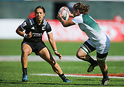 DUBAI, UNITED ARAB EMIRATES - Thursdays 30 November 2017, Jackie Kriel of South Africa during HSBC Emirates Airline Dubai Rugby Sevens match between South Africa and New Zealand at The Sevens Stadium in Dubai.<br /> Photo by Roger Sedres/ImageSA