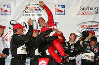 Helio Castroneves wins at the Richmond International Raceway, SunTrust Indy Challenge, June 25, 2005