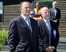 Christchurch-Matthew Doocey, Christchurch East candidate with Prime Minister John Key