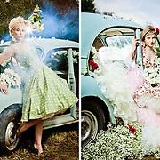 Petal Passion: Fashion Editorial Photography, Absolute Brighton Magazine, April 2013