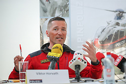 02.04.2019, Innsbruck, AUT, Alpinunfälle beim Wintersport, Pressekonferenz, Landespolizeidirektion Tirol, Österreichisches Kuratorium für Alpine Sicherheit, Bergrettung Tirol, im Bild Viktor Horvath (Leiter Alpindienst Polizei) // during a press conference of the Provincial Police Tirol, Austrian Board of Trustees for Alpine Safety, Mountain Rescue Tirol on the report - winter 2018/19 - Alpine accidents in winter sports in Innsbruck, Austria on 2019/04/02. EXPA Pictures © 2019, PhotoCredit: EXPA/ Johann Groder