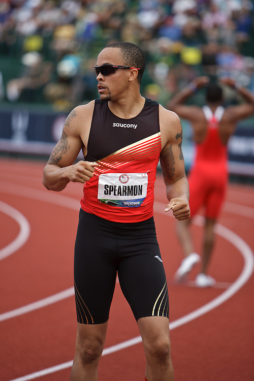 Olympic Trials Eugene 2012: Wally Spearmon, winner 200 meters
