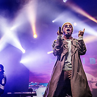 Nederland, Amsterdam, 2 juli 2016.<br /> De uit de Amerikaanse West-Coast, hiphopper, dj en rapper Anderson.Paak tijdens het Pitch Festival in Westerpark.<br /> <br /> Netherlands, Amsterdam, July 2, 2016.<br /> DJ and rapper Anderson.Paak from the US West Coast during the Pitch Festival in Westerpark.<br /> <br /> Foto: Jean-Pierre Jans