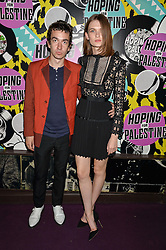 JEFF WOOTTON and LARA MULLEN at Hoping's Greatest Hits - the 10th Anniversary of The Hoping Foundation's charity benefit held at Ronnie Scott's, 47 Frith Street, Soho, London on 16th June 2016.