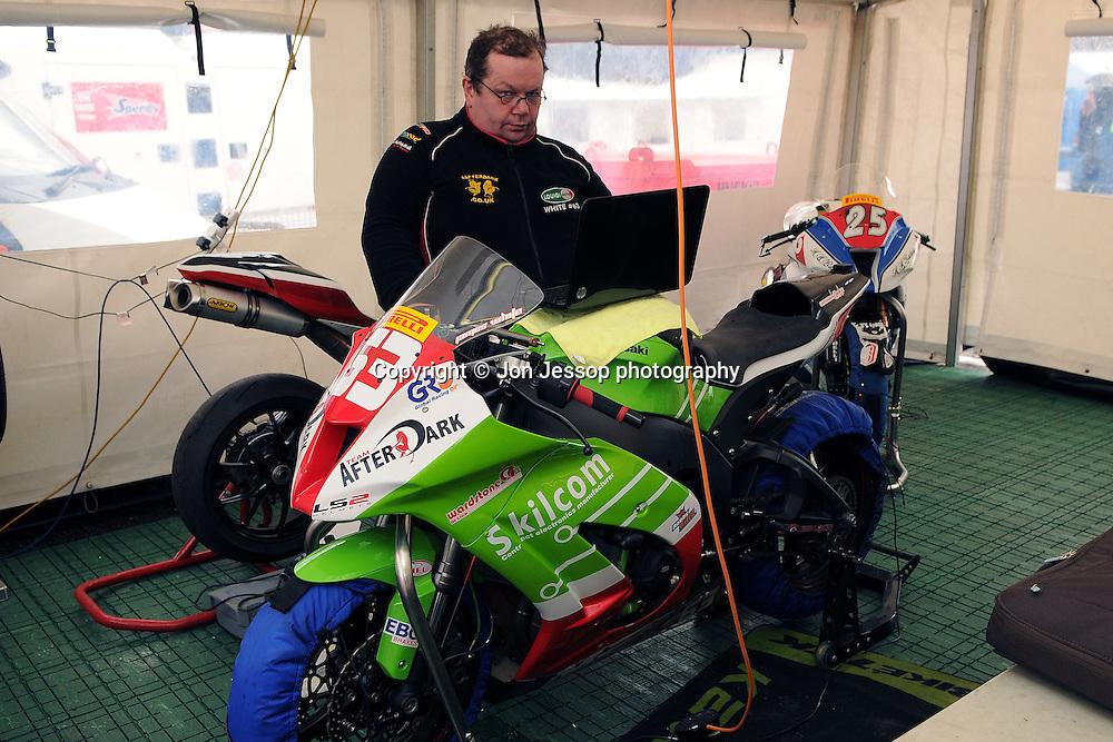 #63 James White Team Afterdark Kawasaki