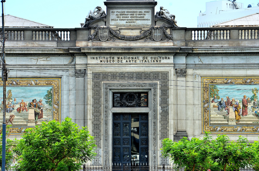 Museum of Italian Art in Lima, Peru<br /> Given its Spanish origins, you expected to see European art in Lima&rsquo;s museums but not one dedicated entirely to Italy&rsquo;s artists.  However since it opened in 1923, thanks to generous donations by local Italian residents, the Museo de Arte Italiano has been building and exhibiting a collection of 20th century Italian paintings, drawings, ceramics and statues. The museum has been managed by Nacional de Cultura since 1972.