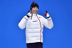 BAUCHET_Arthur,  ParaSkiAlpin, Para Alpine Skiing, Slalom, Podium during the PyeongChang2018 Winter Paralympic Games, South Korea.