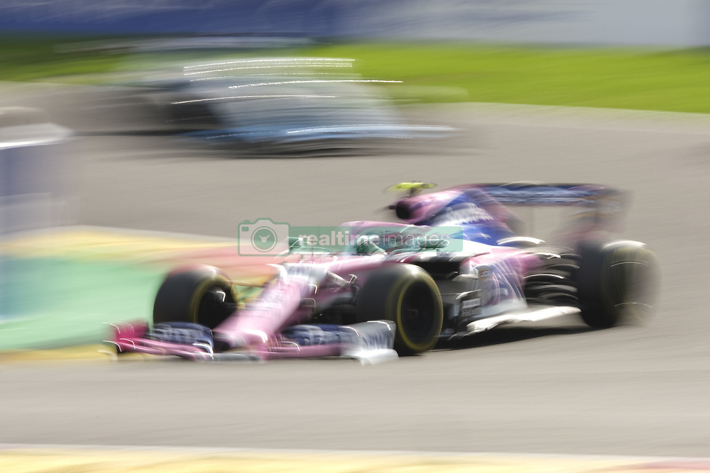 September 1, 2019, Spa Francorchamps, Belgium: Racing Point UK Limited Driver LANCE STROLL (CAN) in action during the race of the Formula one Johnnie Walker Belgian Grand Prix at the SPA Francorchamps circuit - Belgium..Charles Leclerc wins his first Formula One Grand Prix (Credit Image: © Pierre Stevenin/ZUMA Wire)