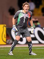 Fussball International, Italienische Nationalmannschaft  Italien - Kamerun 03.03.2010 Federico Marchetti (ITA)