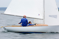 _V0A8312. ©2014 Chip Riegel / www.chipriegel.com. The 2014 Bullseye Class National Regatta, Fishers Island, NY, USA, 07/19/2014. The Bullseye is a Nathaniel Herreshoff designed 15' Marconi rig sailing boat.