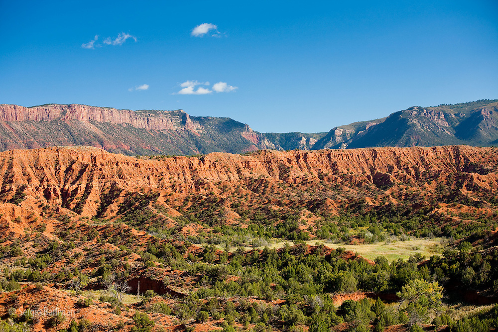 The dirt Onion Creek road winds its way deep into the canyons near the Fisher Towers and the Kokopelli trail near Moab, Utah.