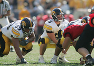 01 SEPTEMBER 2007: Iowa quarterback Jake Christensen (6) is under center in Iowa's 16-3 win over Northern Illinois at Soldiers Field in Chicago, Illinois on September 1, 2007.
