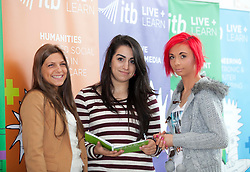 Repro Free: 14/09/2012.Nargiz Abdulajeva and Evelina Dzemedaiunqito from Lithuania and Veronica Smaga from Poland pictured at the Institute of Technology Blanchardstown (ITB) Annual Welcome Barbeque for 2012 First Year Students, their first social gathering of their academic year..ITB have thirty full time courses covering Electronics and Computer Engineering, Computing, Business, Mechatronics, Applied Social Studies in Social Care, Business and Business with Information Technology , International Business, Sports Management and Coaching along with Creative Digital Media, Social and Community Development, Early Childhood Care and Education, and Horticulture. .There are also a number of part time Springboard Courses on offer at ITB, the initiative launched in May for unemployed people in areas such as, Mechatronics, Computing, Digital media, Energy Efficiency and Retrofit, and Languages. The initiative is aimed at those who were previously working but lost their jobs or were made redundant and who, with some up-skilling, could fill current or future job shortages. Pic Andres Poveda..www.itb.ie..For further information, an interview with Mairead Murphy, photography from the event please contact Ann-Marie Sheehan, Aspire PR, Telephone : 01 827 5181 / 087 298 5569 or email : annmarie@aspire-pr.com
