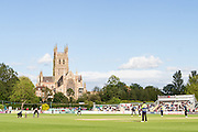 New Road, the home of Worcestershire County Cricket Club during the Natwest T20 Blast North Group match between Worcestershire County Cricket Club and Leicestershire County Cricket Club at New Road, Worcester, United Kingdom on 29 May 2015. Photo by Shane Healey.