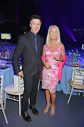 Actor AIDAN GILLEN and CLEA NEWMAN daughter of the late actor Paul Newman founder of the SeriousFun Children's network at the SeriousFun Children's Network London Gala held at The Roundhouse, Chalk Farm Road, London on 3rd November 2016.