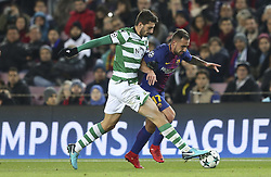 December 5, 2017 - Na - Barcelona, ​​05/12/2017 - FC Barcelona received the Sporting CP in the Camp Nou stadium tonight, in the game to count for the 6th round of Group D of the 2017/18 Champions League. Piccini and Alcacer  (Credit Image: © Atlantico Press via ZUMA Wire)