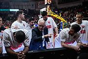 Attilio Caja<br /> Openjobmetis Varese - A X Armani Exchange Milano<br /> Openjobmetis Varese - <br /> Basket Serie A LBA 2018/2019<br /> Varese 03 January 2017<br /> Foto Mattia Ozbot / Ciamillo-Castoria