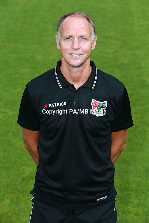 Wilfried Brookhuis keeper trainer during the team presentation of NEC Nijmegen on July 08, 2015 at the Goffert stadium in Nijmegen, The Netherlands