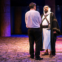 Ross by Terrance Rattigan<br /> Director Adrian Noble with<br /> Peter Polycarpou as Sheik Auda Abu Tayi<br /> Chichester Festival Theatre, Chichester<br /> 7 June 2016