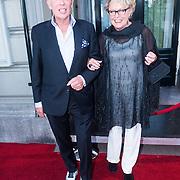 NLD/Amsterdam/20130903 - Inloop premiere Stiletto 2, Frans Mulder en Marianne van Wijnkoop