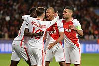 29 KYLIAN MBAPPE (mon) - 09 RADAMEL FALCAO (mon) - JOIE<br /> <br /> FOOTBALL : Monaco vs Borussia Dortmund -  Champions League - 19/04/2017<br /> Norway only