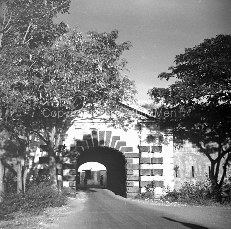 India. Gate. Fort St. George. <br /> Chennai. Tamil Nadu