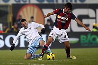 "Libor Kozak Lazio  Rene Krhin Bologna.Bologna 10/12/2012 Stadio ""Dall'Ara"".Football Calcio Serie A 2012/13.Bologna v Lazio.Foto Insidefoto Paolo Nucci."